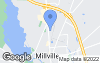 Map of Millville, NJ