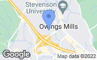 Map of Owings Mills, MD