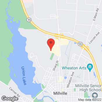 Map of Staples at 2124 North 2nd Street, Millville, NJ 08332