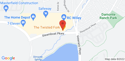 Directions to The Twisted Fork