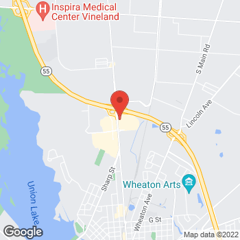 Map of Hair Cuttery at 2267 N 2nd Street, Millville, NJ 08332