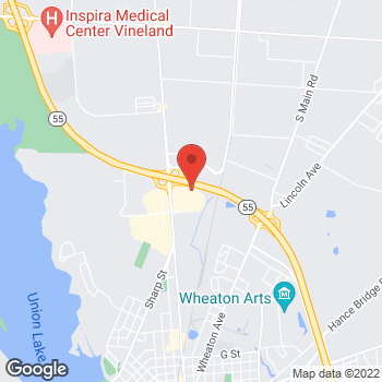 Map of Hair Cuttery at 2267 N 2nd Street Space B5, Millville, NJ 08332
