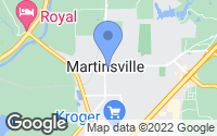 Map of Martinsville, IN