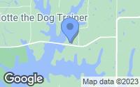 Map of Trimble, MO