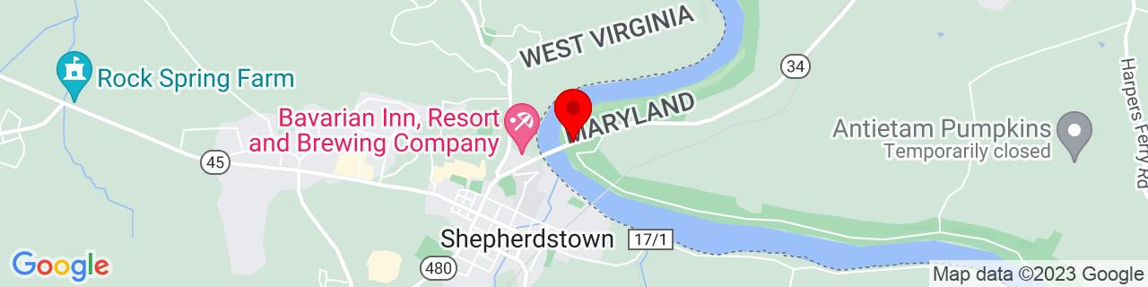 Google Map of 39.437161, -77.79974829999999