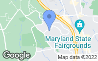 Map of Lutherville-Timonium, MD