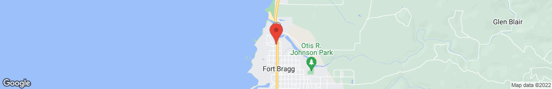 Map of 901 N Main St in Fort Bragg