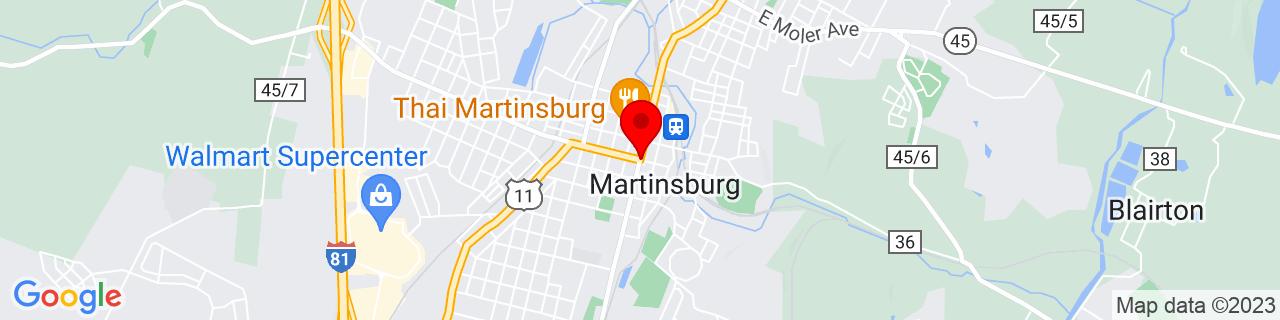 Google Map of 39.4562099, -77.96388689999999