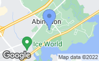 Map of Abingdon, MD