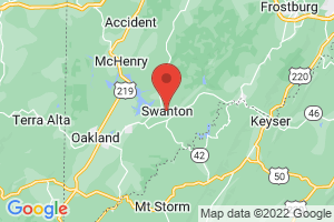 Map of Swanton