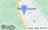 Map of Reisterstown, MD