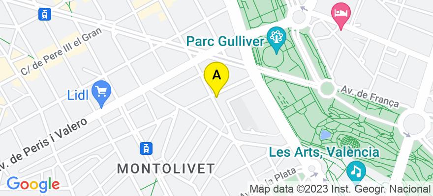 situacion en el mapa de . Direccion: Escultor José Capuz, 15, 46006 Valencia. Valencia