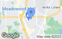 Map of Reno, NV