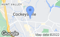 Map of Cockeysville, MD