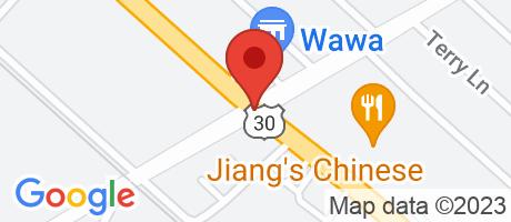Branch Location Map - Wells Fargo Bank, Pomona Branch, Route 30 And Pomona Road, Pomona NJ