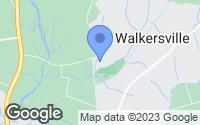 Map of Walkersville, MD