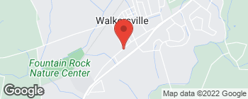Map of 36 W Frederick St in Walkersville
