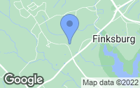 Map of Finksburg, MD