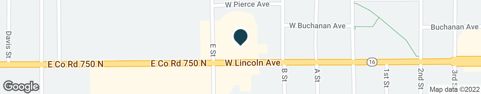 Google Map of411 W LINCOLN AVE