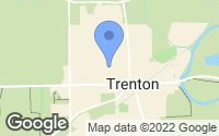 Map of Trenton, OH