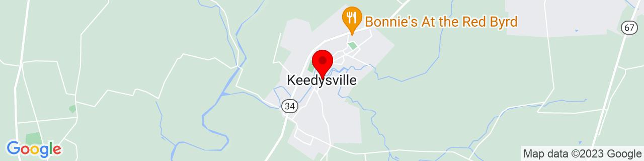 Google Map of 39.4862106, -77.6997141