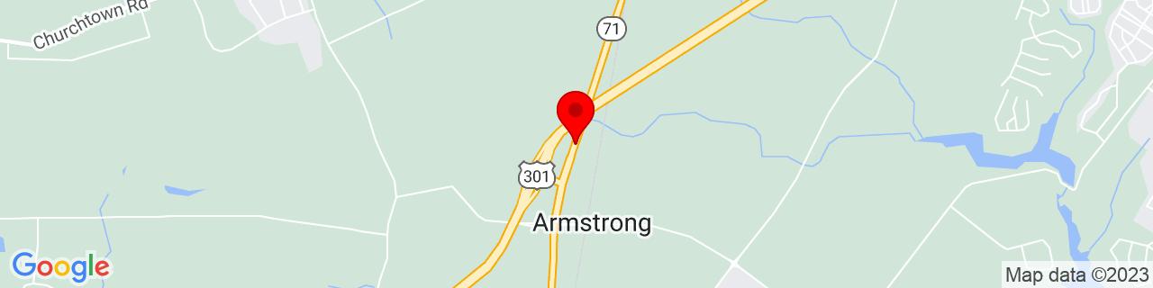 Google Map of 39.4863652, -75.7181987
