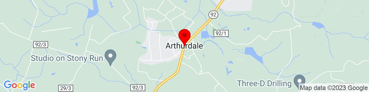 Google Map of 39.495, -79.815