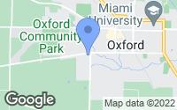 Map of Oxford, OH