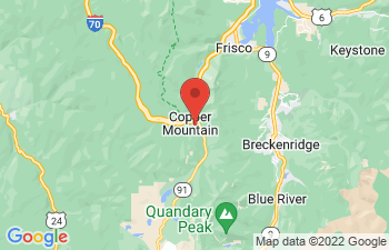 Map of Copper Mountain