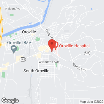 Map of Taco Bell at 2660 Olive Hwy, Oroville, CA 95966
