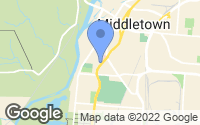 Map of Middletown, OH