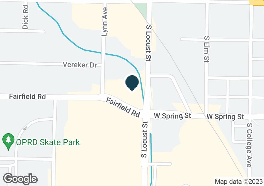 Google Map of200 S LOCUST ST
