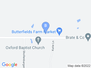 Map of Oxford Kennels Dog Boarding options in Oxford | Boarding