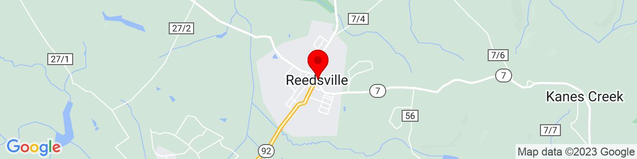 Google Map of 39.5106408, -79.7983924