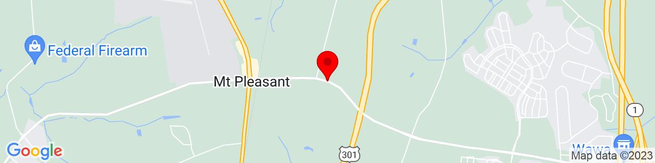Google Map of 39.5109493, -75.6985382