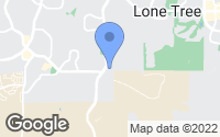 Map of Lone Tree, CO