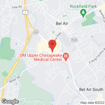 Map of Hair Cuttery at 635 Belair Road, Belair, MD 21014