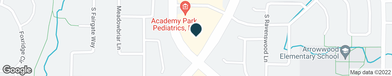 Google Map of4175 E WILDCAT RESERVE PKWY