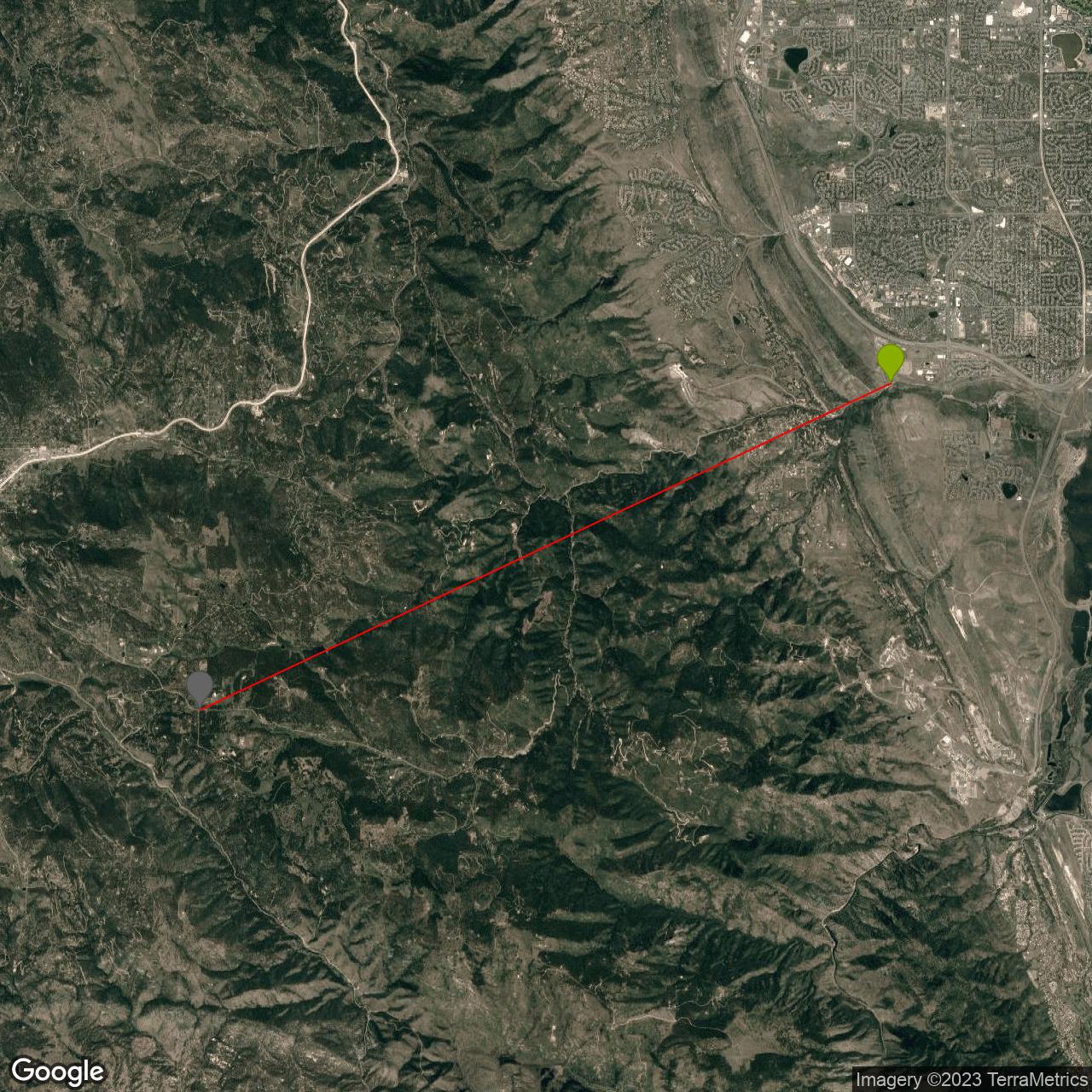 Deer Creek Canyon Road South Bike Climb - PJAMM Cycling