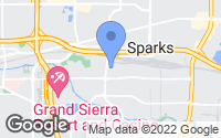 Map of Sparks, NV