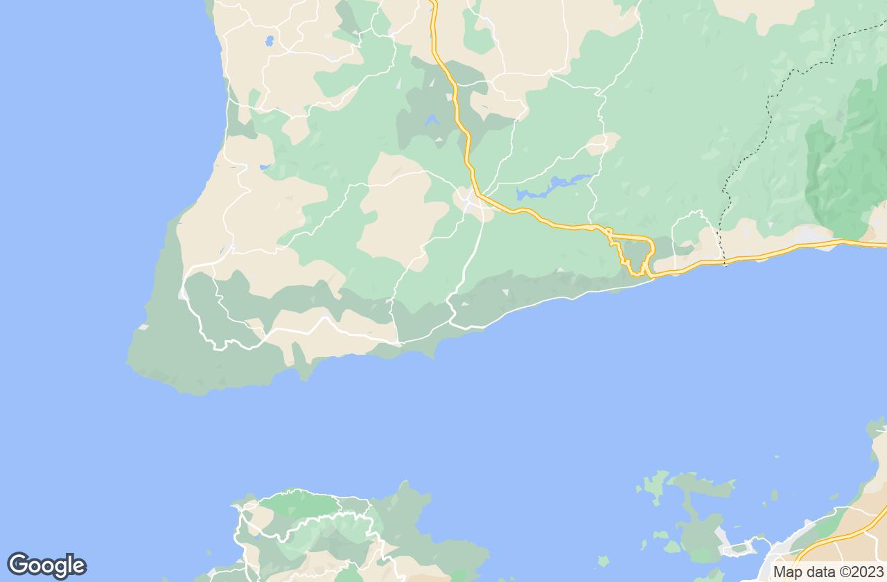 Google Map of Ayvacik
