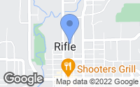Map of Rifle, CO