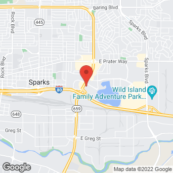 Map of Verizon Authorized Retailer - TCC at 200 N McCarran Blvd, Sparks, NV 89431