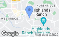 Map of Highlands Ranch, CO