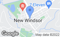 Map of New Windsor, MD
