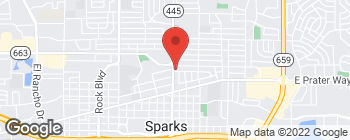Map of 716 H St in Sparks