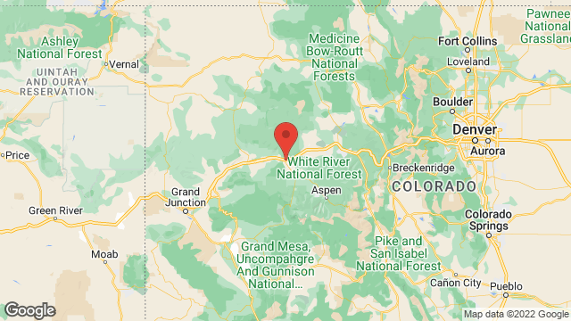Colorado Mountain College location map
