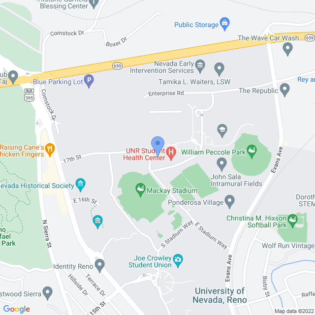 Map showing the Family Medicine Center