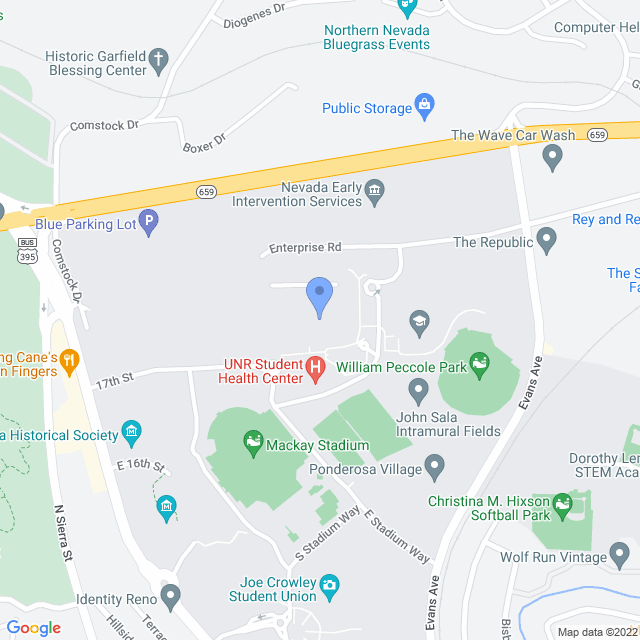 Map showing the Manville Health Sciences