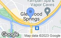 Map of Glenwood Springs, CO